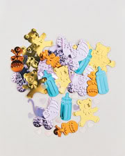 Baby Things Table Confetti