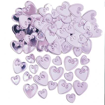 Loving Hearts Cotton Candy Table Confetti