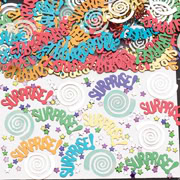 Surprise Party Table Confetti