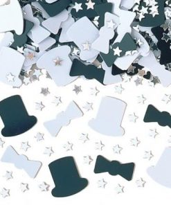 Top Hats table Confetti