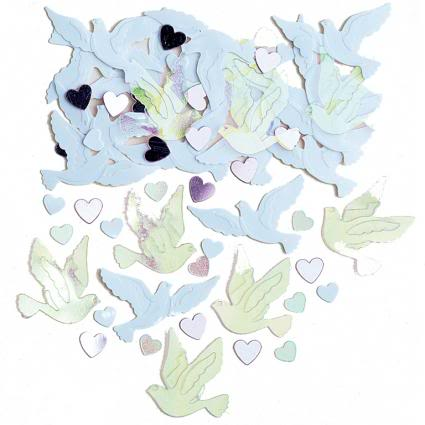 Wedding Doves Table Confetti