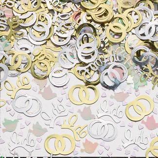 Wedding Vows Table Confetti