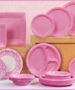 Baby Pink Tableware