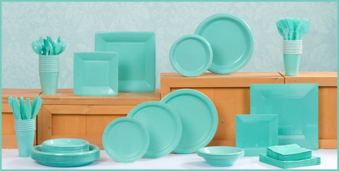 Baby Blue Tableware