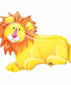 Jungle Party Lion Supershape Helium Filled Foil Balloon