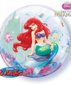 """Disney The Little Mermaid 22"""" Bubble Balloon"""