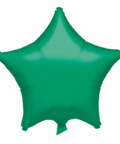 Metallic Green Star Helium Filled Foil Balloon