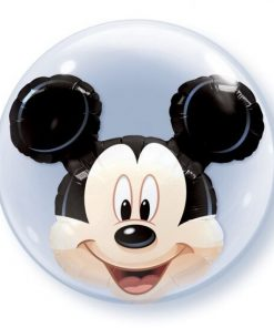 "Disney Mickey Mouse 24"" Double Bubble Balloon"