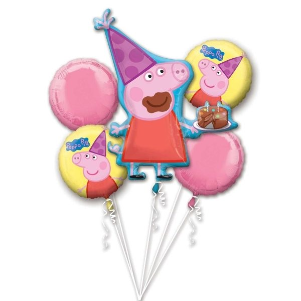 Peppa Pig Bouquet at London Helium Balloons