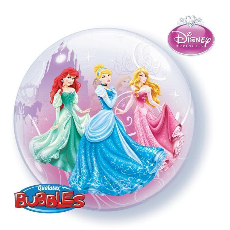 """Disney Princess Royal Debut 22"""" Bubble Balloon"""