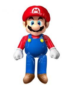 Super Mario Helium Filled Airwalker Foil Balloon.