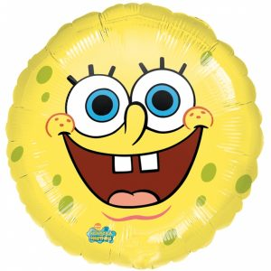 spongebob squarepants smiles Helium Filled Foil Balloon