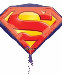 superman emblem Helium Filled Foil Balloon