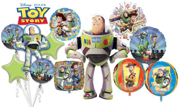 toy story helium inflated balloons