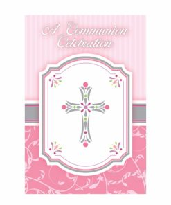 Blessings Pink Invitations (20)