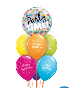 Party Time Bouquet at London Helium Balloons