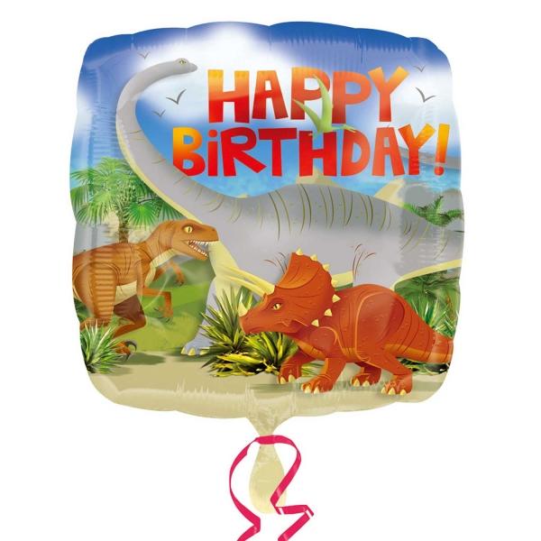 Dinosaur Attack Happy Birthday at London Helium Balloons