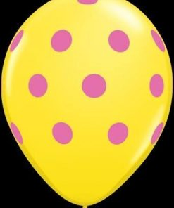 """10 Polka Dots Helium Filled 11""""latex Party Party Balloons"""