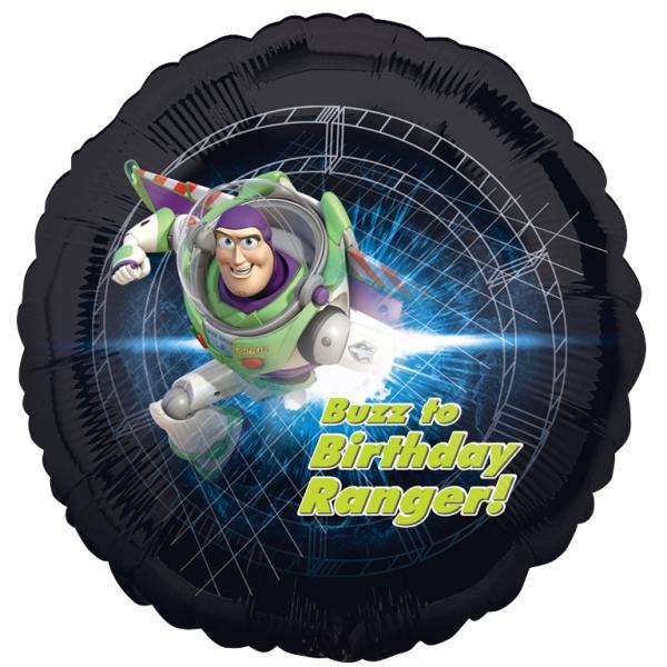 toy story birthday ranger Helium Filled Foil Balloon