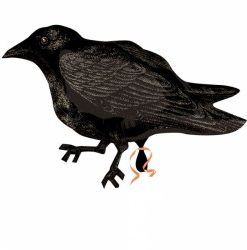 crow junior shape  Helium Filled Foil Balloon