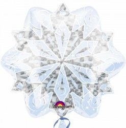 White Christmas Snowflakes Junior shape delivered in London