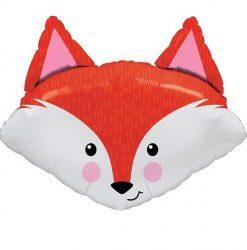 Fabulous Fox helium filled foil balloon