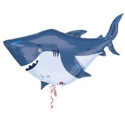 Ocean Buddies Shark helium filled foil balloon