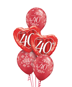 40th Anniversary Classic at London Helium Balloons