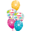 Balloon Year's day at London Helium Balloons