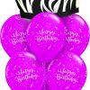 Birthday Zebra Cake at London Helium Balloons