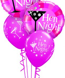 Hen Night at London Helium Balloons