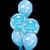 Communion Blue at London Helium Balloons
