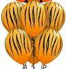 Tickled Tiger at London Helium Balloons