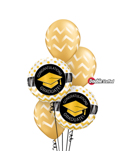Gold Graduate at London Helium Balloons