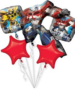 Transformers Party Bouquet
