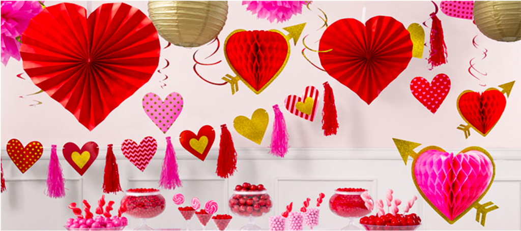 Helium Balloons for Valentines