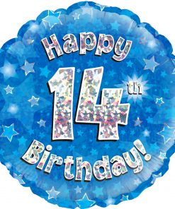 14th Birthday Balloons