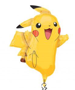 Pikachu helium filled foil balloon