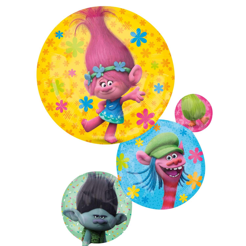 Trolls helium filled foil balloon