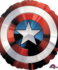 Avengers Shield helium filled foil balloon