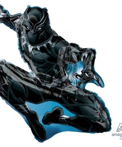 Black Panther helium filled foil balloon